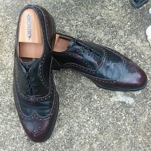 Johnson and Murphy lace wing tips with Florsheim s